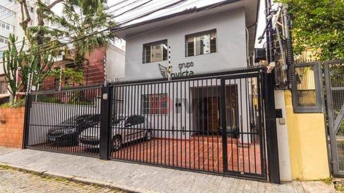 Sobrado  4 Quartos  À Venda, 170 M² Por R$ 3.200.000 - Vila Mariana Sp - So0685