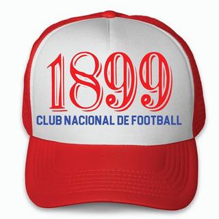 Gorra Trucker Club Nacional De Montevideo Uruguay Bolso 1899