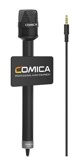 Microfone Mão Comica Hrm-s Condensador P /smartphones