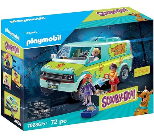 Imagem 1 de 10 de Playmobil Scooby-doo! Mystery Machine 70286 Furgão