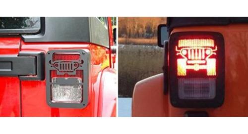 Grade Proteção P/ Lanterna Traseira Jeep Wrangler 07/17 Tela