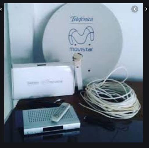 Kit Tv Movistar Con Linea Activa. Decodificador Antena