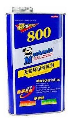 Alcohol Isopropilico Original Mechanic 800 Sin Plomo