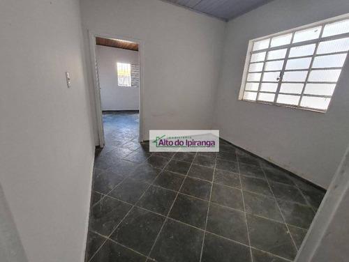Imagem 1 de 9 de Casa Com 1 Dormitório Para Alugar, 50 M²- Ipiranga - São Paulo/sp - Ca0428