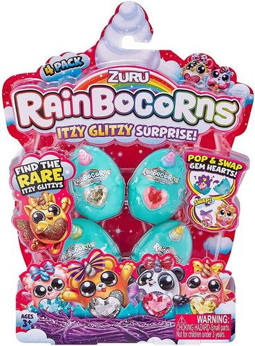 Rainbocorns Itzy Glitzy X4 Sorpresa Surprise Original Edu Fu