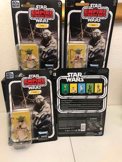 Yoda Black Series 6 Pulgadas 40th Aniversario
