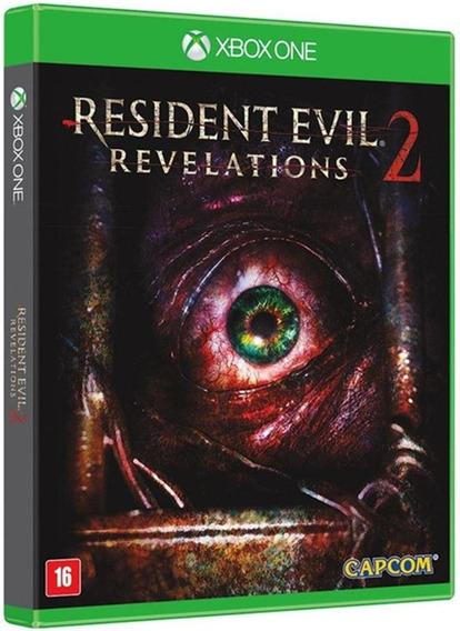 Game Resident Evil Revelations 2 Xbox One Midia Fisica Br