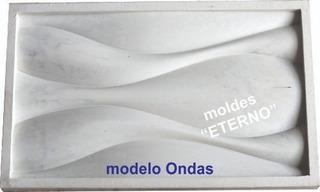 Molde Eterno Goma Flex Modelo Ondas Placa Antihumedad