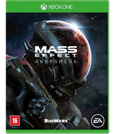 Jogo Mass Effect Andromeda Xbox One Disco Fisico Portugues