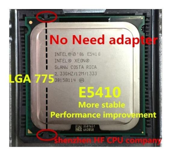 Intel Xeon E5410 2.33ghz / 12m / 1333 Mhz / 775 + Pasta