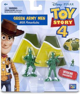 2 X Set 2 Soldados Paracaidistas - Toy Story 4 Disney Store