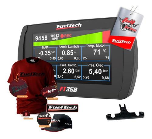 Ft350 Fueltech S/ Chic + Mega Brinde Camiseta Bordo Gel+bp