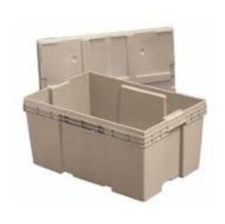 Caja De Plástico Semi Nueva