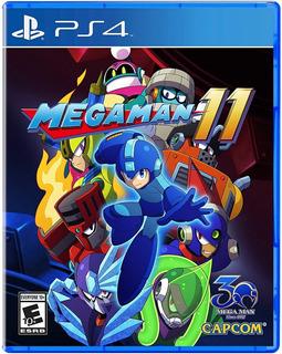 Mega Man 11 - Playstation 4 Nuevo Y Original