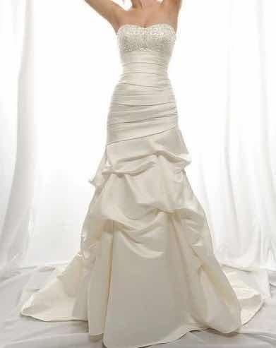 Vestido De Noiva Cetim Sereia