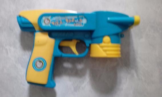 Pistola Tiratazos Pokemon Pepsico Snacks Tazos