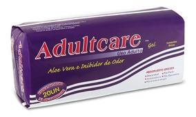 Absorvente Geriátrico Adultcare 20 Unidades