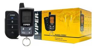 Alarma De Seguridad Viper Para Automóvil 3306 2 Vias Lcd
