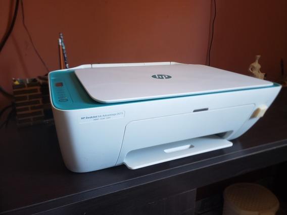 Impressora Hp Wifi 2675 + Bulk Ink 600 Ml - S/cartucho