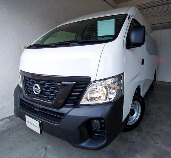 Nissan Nv350 Urvan Panel 4 Ventanas A 2020