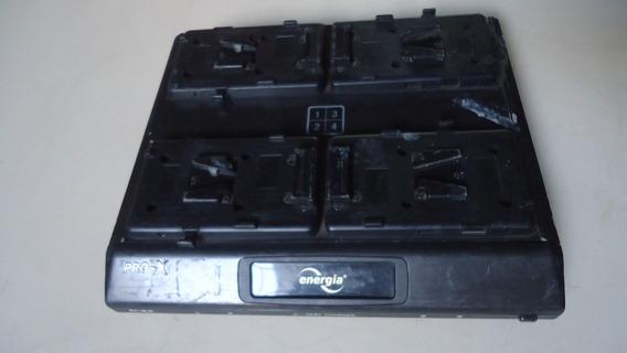 Carregador De Bateria Câmera Pro-x Xc-4ls