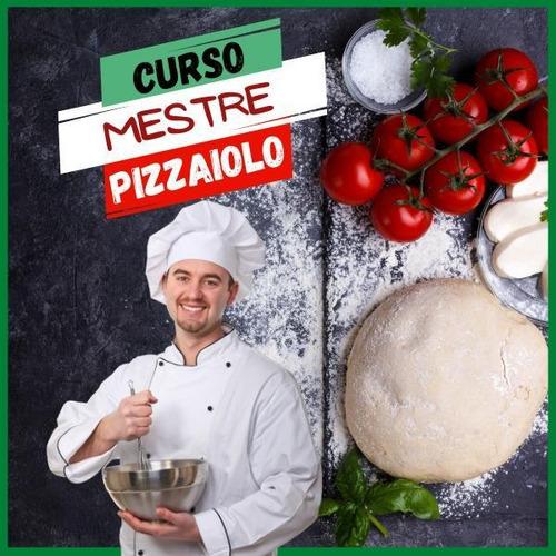Imagem 1 de 1 de Curso Mestre Pizzaioloculinária, Gastronomia, Receitas