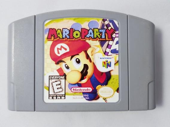 Mario Party Americano Original Nintendo 64 Mídia Física