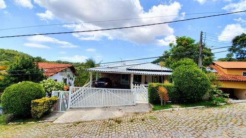Casa Em Condomínio Com 3 Qtos - 3stes À Venda, 550 M²  - Mata Paca - Niterói/rj - Ca1135