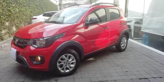 Fiat Mobi 5p Way Tm5 A/ac. Ve F. Niebla Rieles En Techo Ra