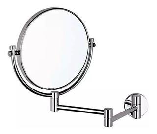 Espejo De Doble Vista Giratorio Con Aumento Helvex Es-001