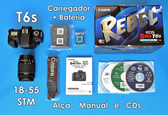 Canon T6s Completa