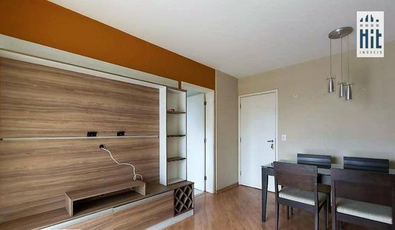 Apartamento À Venda, 61 M² Por R$ 450.000,00 - Vila Das Mercês - São Paulo/sp - Ap1665