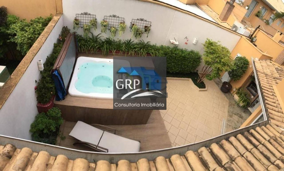 Casa Em Condomínio Para Venda Em São Caetano Do Sul, Mauá, 3 Dormitórios, 3 Suítes, 5 Banheiros, 4 Vagas - 5121_1-1439314
