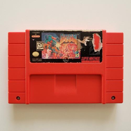 Doom - Original Snes Super Nintendo Cartucho Fita Jogo