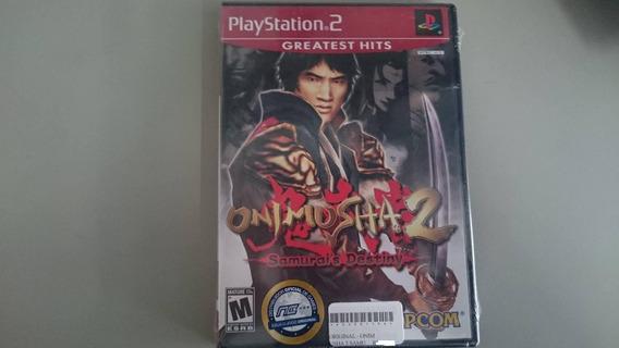 Onimusha 2 Samurais Destiny Ps2 Original