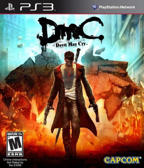 Devil May Cry Dmc - Jogos Ps3 Playstation 3