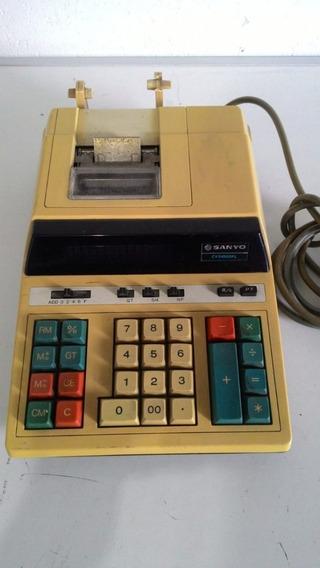 Calculadora Sanyo Cy5100dpl 110v Bom Estado
