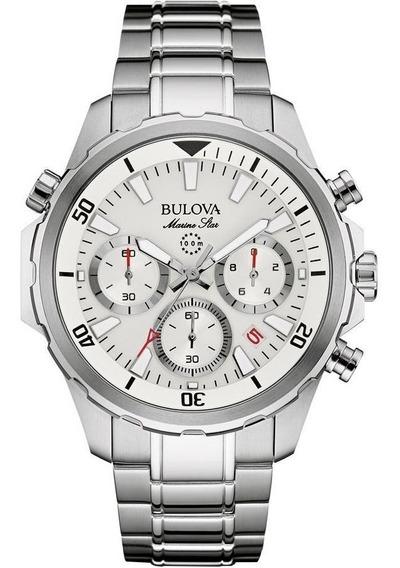 Reloj Bulova Marine Star Chrono 96b255 Hombre E-watch