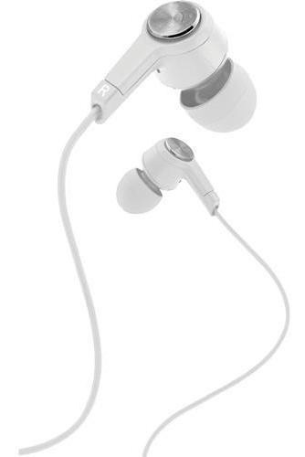 Earbud De Metal Coby Com Microfone Embutido