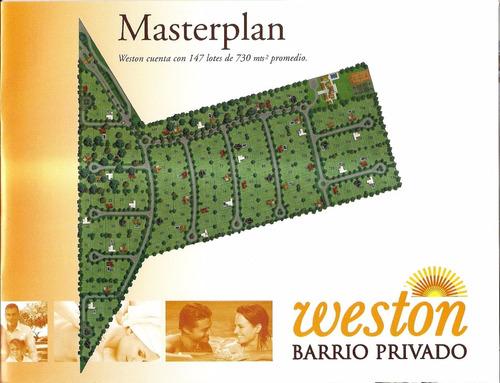 Lote En Barrio Cerrado Weston