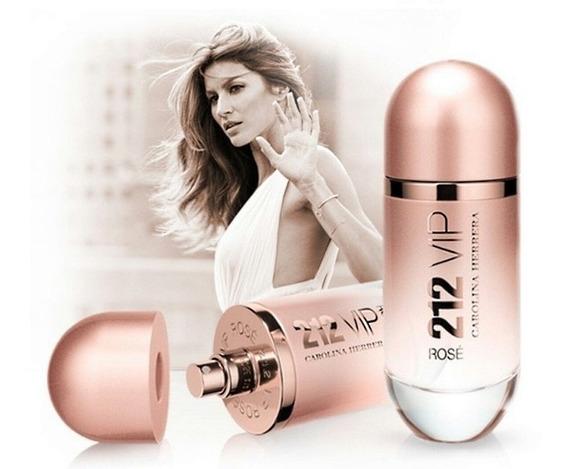Perfume Feminino Carolina Herrera 212 Vip Rose