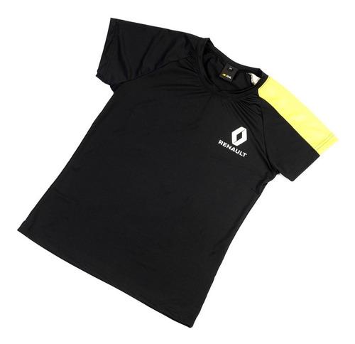 Remera Dama Manga Amarilla T:m Boutique Renault