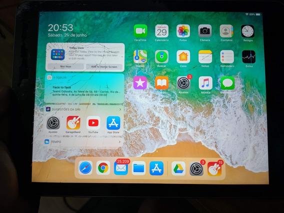 New iPad 5 Geração 32 Gb - Tudo Funcionando, Tela Rachada