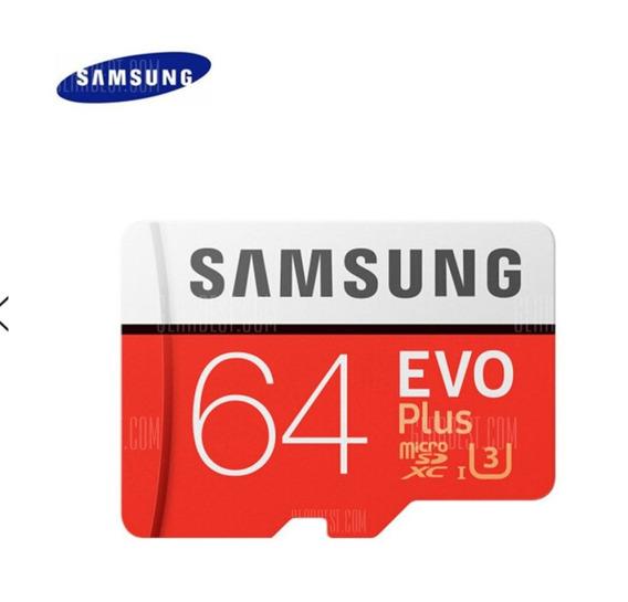 Cartão De Memória Original-samsung Uhs-3 64gb Micro Sdxc