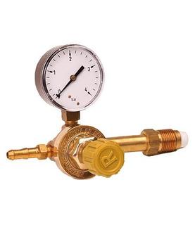Valvula Reguladora De Presion P/garrafa C/1 Rebron Solfer