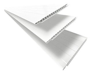 Forro De Pvc Polifort 6m² - Branco Neve Bg