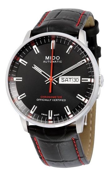 Relogio Mido M0214311605100 Commander Ii Preto Automatico