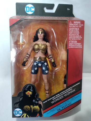 Mujer Maravilla Baf Dr Psycho Multiverse Mattel