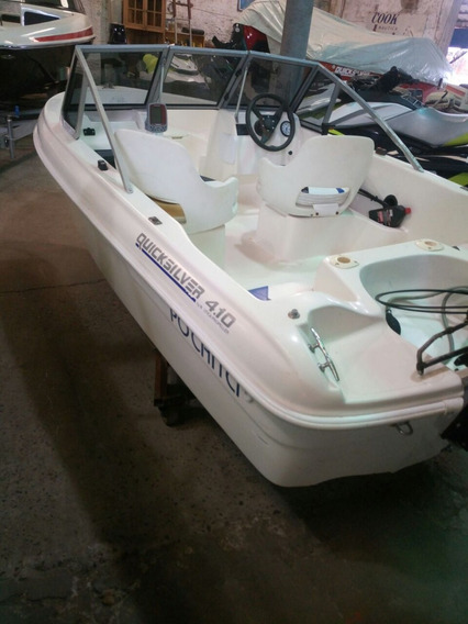 Quicksilver 410 Con Mercury Sea Pro 55 (2001) Con Arranque