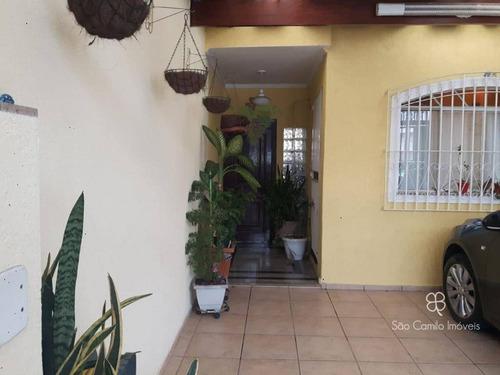 Casa Com 2 Dormitórios À Venda, 90 M² Por R$ 379.000,00 - Jardim Cambara - São Paulo/sp - Ca1977